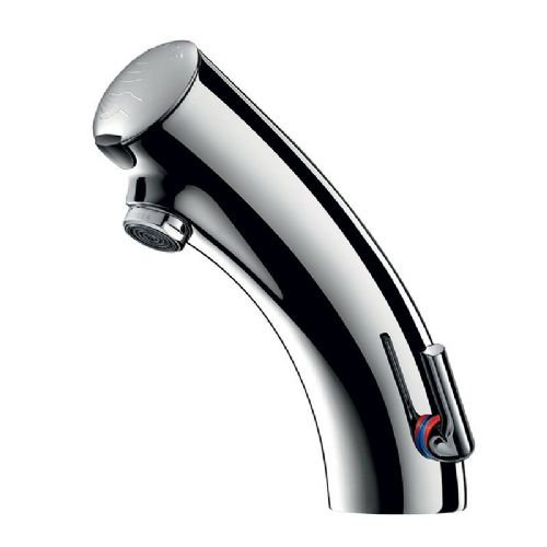 Delabie 49200615 TEMPOMATIC MIX 3 Deck-Mounted Infrared Sensor Basin Mixer